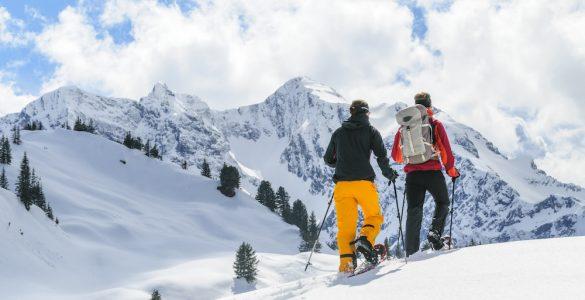 Ciaspolare Valle d'Aosta