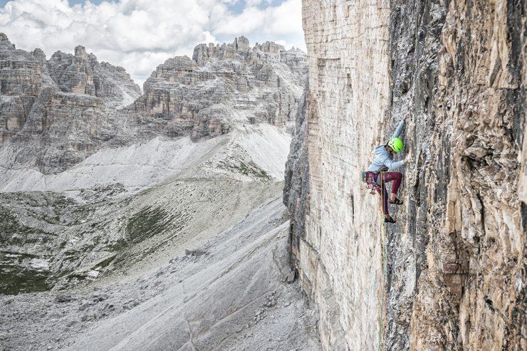 abbigliamento da arrampicata