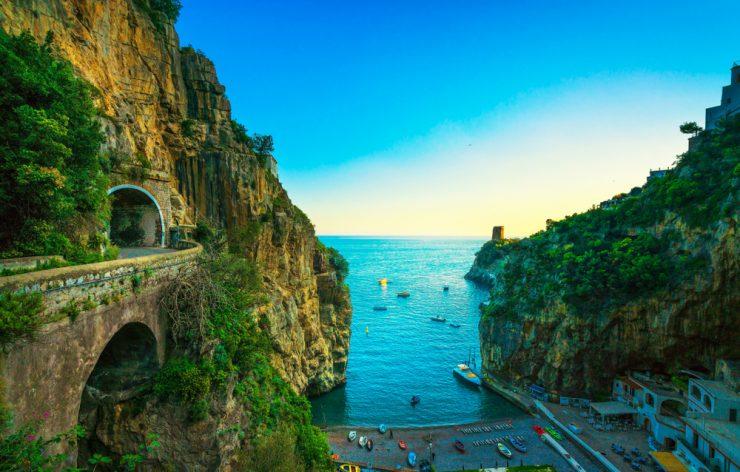 Costiera Amalfitana in caicco