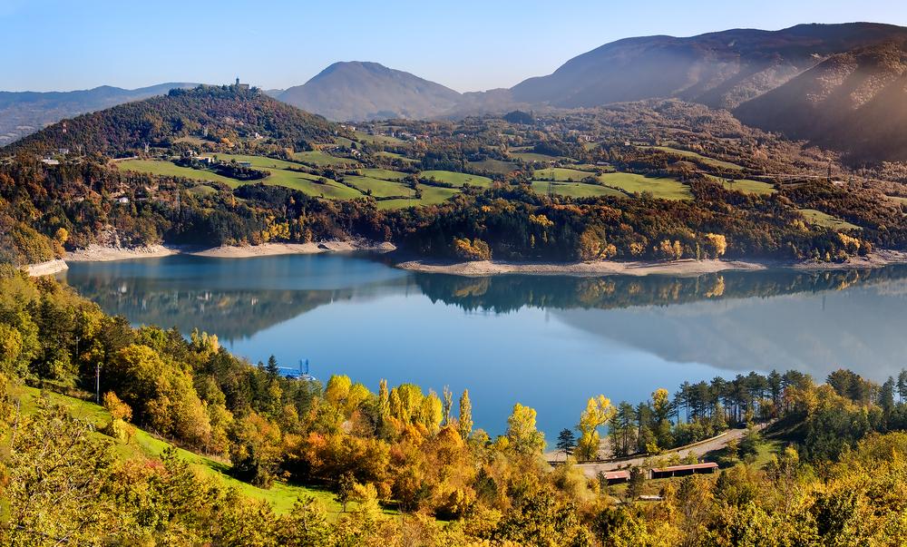 Laghi Emilia Romagna, Lago di Suviana