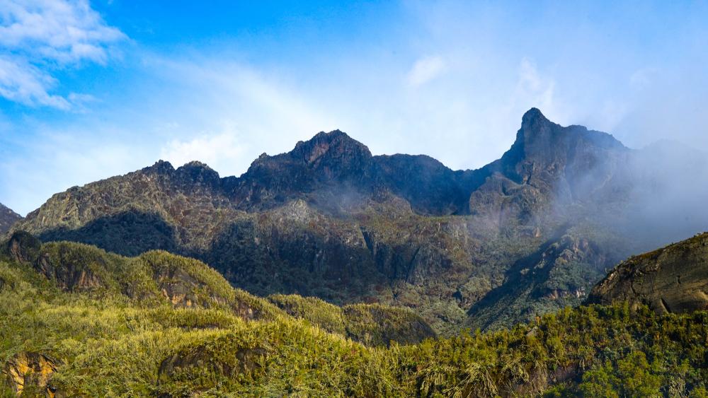 Montagne della Luna, Uganda