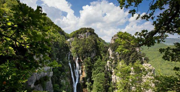 cascate del verde