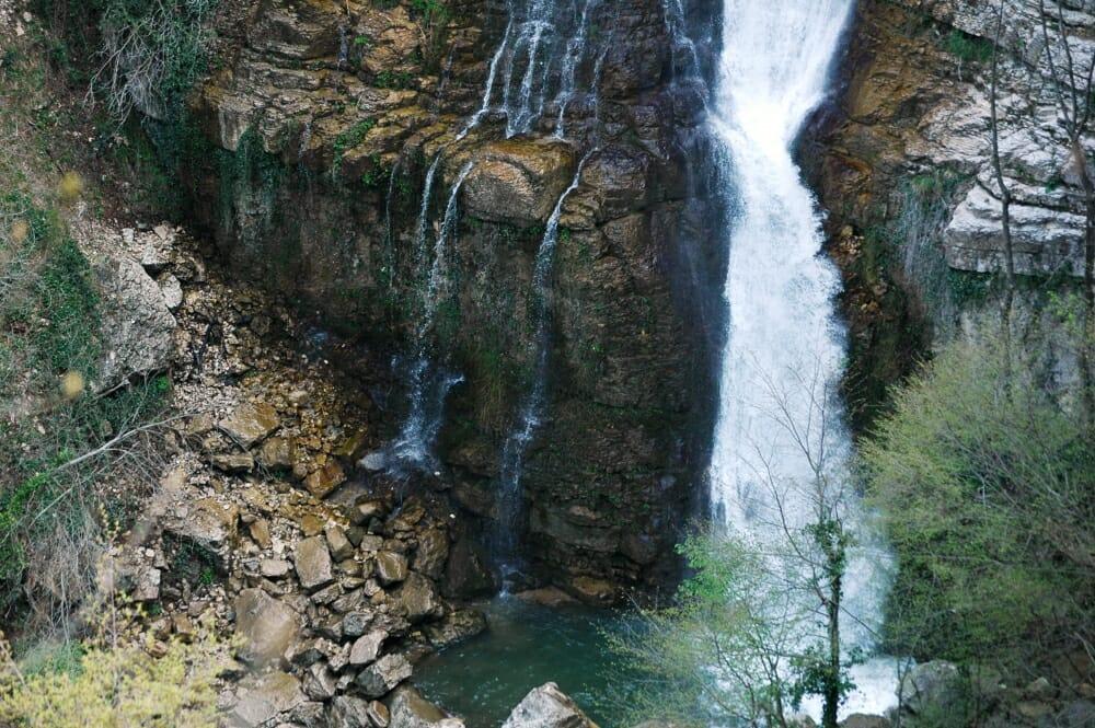 Cascate del Verde, Abruzzo
