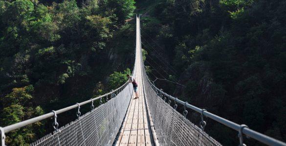 Ponte Tibetano Piemonte